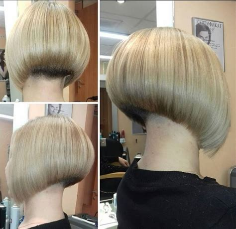 staked nape bobs stacked nape short hairstyle 2013