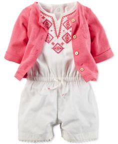Baby Romper Cardigan Rg J on and