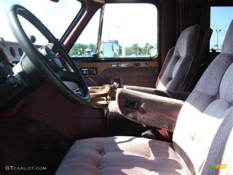Chevy G20 Interior by 1990 Brown Chevrolet Chevy G20 Passenger Conversion