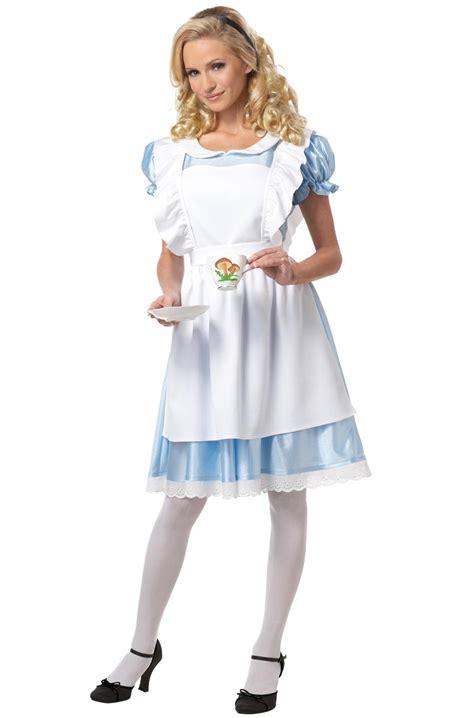 alice in wonderland costume alice in wonderland costumes alice in wonderland adult costume purecostumes com