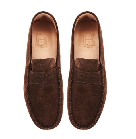 select loafers mens marina chocolate suede positano