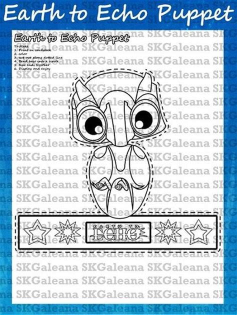 coloring pages of earth to echo 1000 images about movie printables on pinterest rio 2