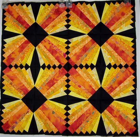 Free Modern Quilt Patterns by Modern Dresden Block Free Paper Pieced Pattern Christa