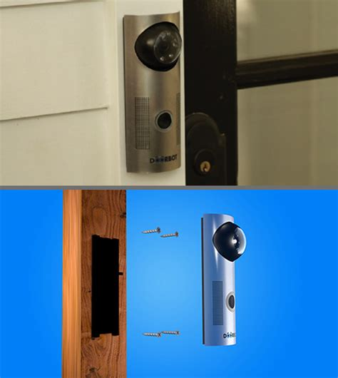 Wifi Front Door Lock Door Bot Doorbot