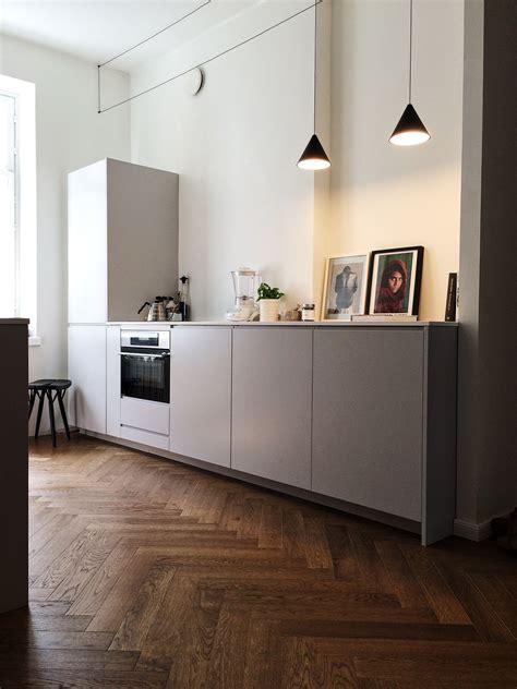 wood herringbone floor contemporary kitchen nate sleek modern kitchen herringbone wood floor kitchen