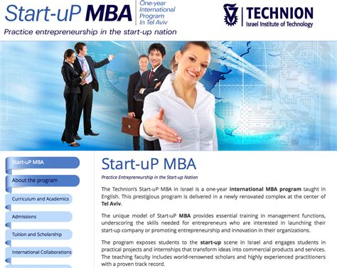 Technion Mba by The American Technion Society