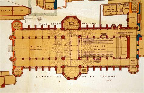 floor plan of windsor castle sir w h st john hope windsor castle ground floor plan