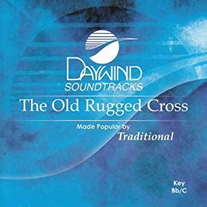 the rugged cross accompaniment track made popular by traditional rugged cross