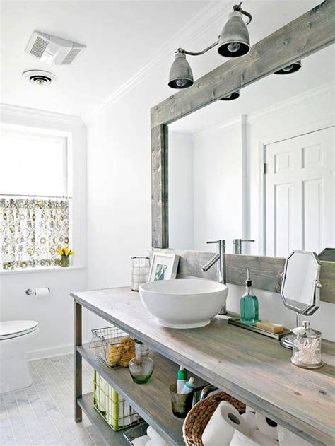 Open Shelving Bathroom Welcome With A Modern Country Bath Open Shelves White And Pine