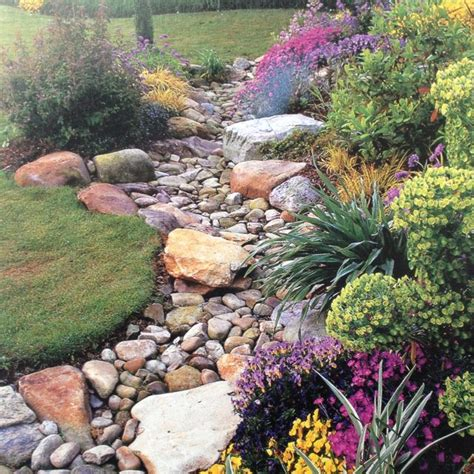 backyard dry river bed dry river bed maybe good for corner of yard that only