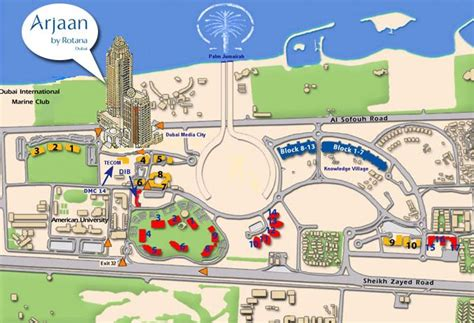 World Of Floors Locations by Arjaan Office Floor Plans Dubai Media City Dubai
