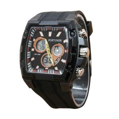 Jam Tangan Pria Cowok Fortuner Original Fr812 Rantai Black jam tangan anak fortuner jualan jam tangan wanita