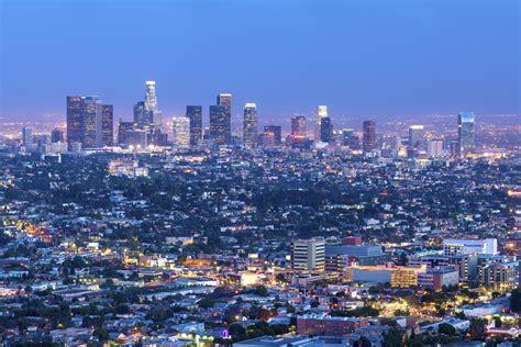 los angeles los angeles california skyline photo gallery