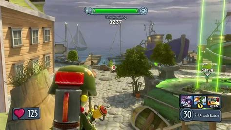 Garden Warfare Gameplay by Plants Vs Zombies Garden Warfare Gardens Graveyards