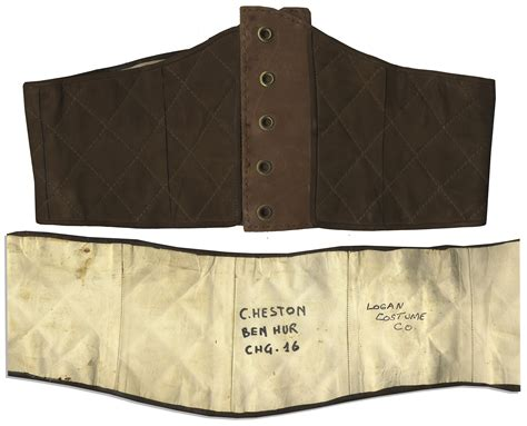 Jansport Belt Benhur lot detail charlton heston s belt from classic epic ben hur