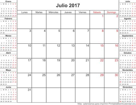calendario anual 2017 para imprimir related keywords