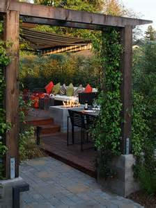 Terrassen Ideen Garten Dachterrassen Terrassen Ideen Garten Pergola Sichtschutz Lounge Offene