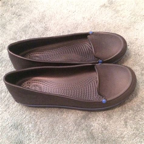 Crocs Loafer crocs sale new crocs black loafer style flats from
