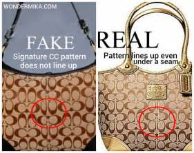 How To If Your Handbag Is Real Or by Pictures Of Real And Coach Bags Style Guru Fashion