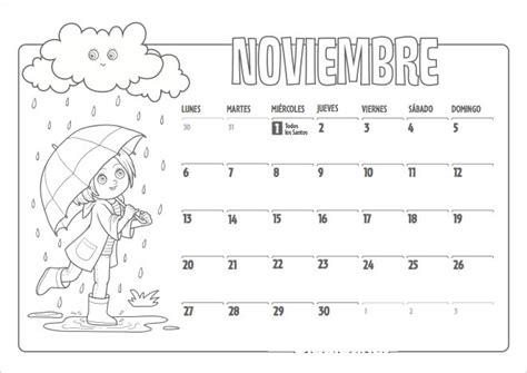 Calendario Octubre 2017 Chile Calendario Noviembre 2017 Para Imprimir Calendario 2018