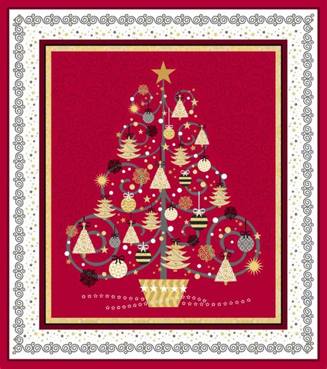 Quilting Treasures by Quilting Treasures All That Glitters Panel 24434 R