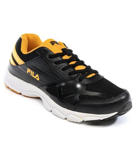 fila sport shoes for fila black sport shoes price in india buy fila black