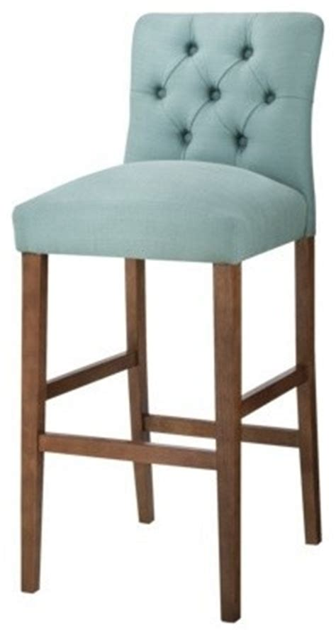 Brookline Tufted Counter Stool by Threshold 30 Inch Brookline Tufted Bar Stool Laguna