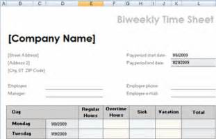 Excel Time Sheet Template by Free Microsoft Excel Worksheet Templates