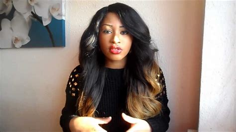 Virgin Hair Giveaway - ombre hair queenie s real virgin hair review giveaway giveaway closed youtube