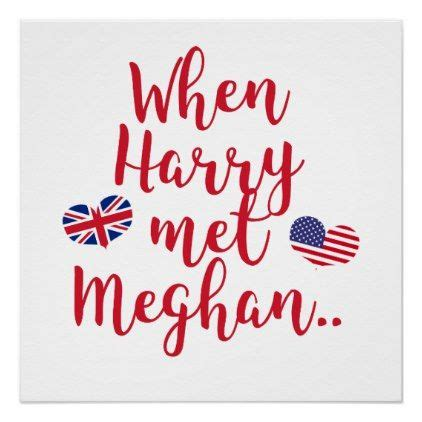 Wedding Posters Make by When Harry Met Meghan Royal Wedding Poster Royal