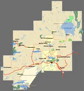 sudbury canada map