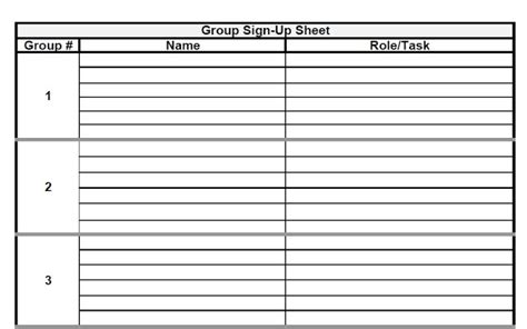 Interoffice Routing Slip Template by The Admin Project Sign Up Sheet