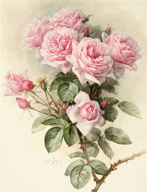 粉色玫瑰花设计图 绘画书法 文化艺术 设计图库 昵图网nipic com