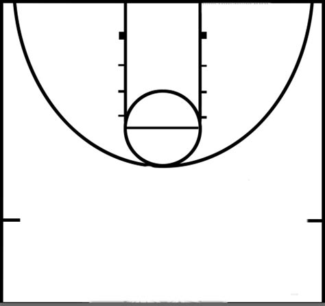 basketball court layout template basketball court diagram unmasa dalha