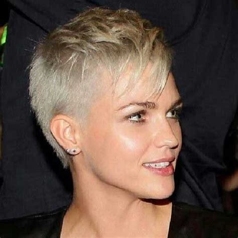 long hair sweeped side fringe shaved best spikey pixie with long bangs things to wear