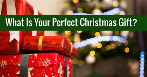 what is your perfect christmas gift quizlady