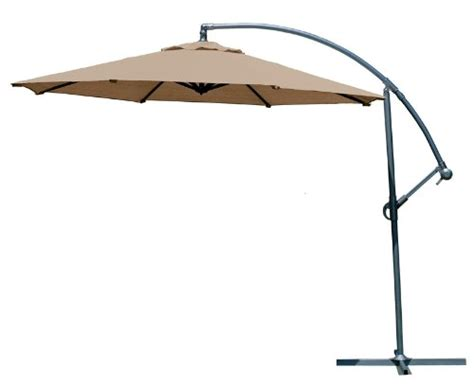 Best Patio Umbrella 9 Gt Best Price Coolaroo 10 Foot Cantilever Freestanding Patio Umbrella Mocha Best Buy
