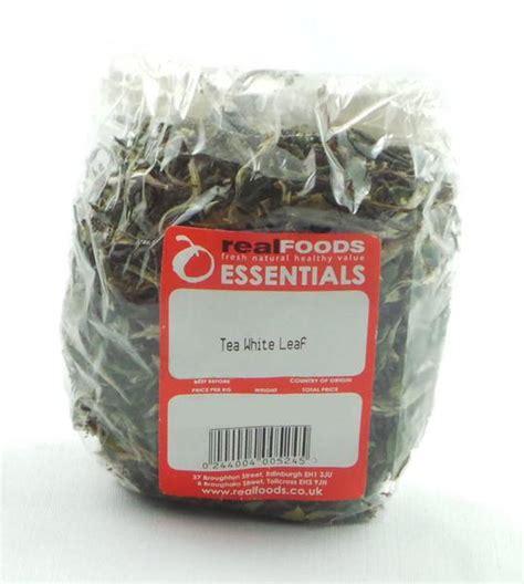 White Tea Herbal 25gr white leaf tea leaves from real foods buy bulk wholesale