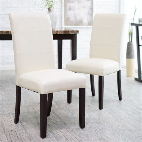 ivory dining chairs avorio ivory dining chair set of 2 dining chairs at