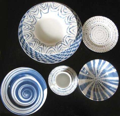 geometric pattern dinnerware taitu volare blue geometric at replacements ltd