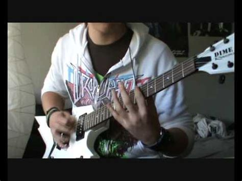 bullet for my room 409 bullet for my room 409 guitar cover