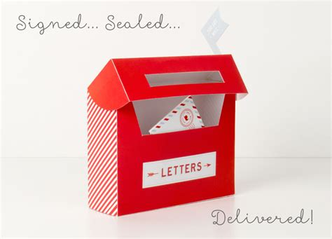 How To Make Post Box With Chart Paper - free mail box printables tinyme
