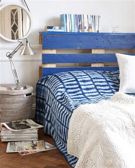 cabecero de palets de estilo marinero  tu cama  love palets