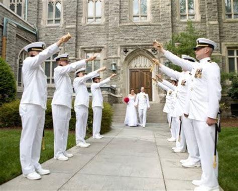 Wedding Arch Navy by Sword Arch Wedding