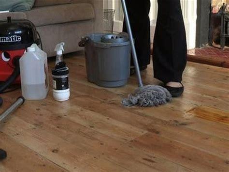 clean hardwood flooring youtube