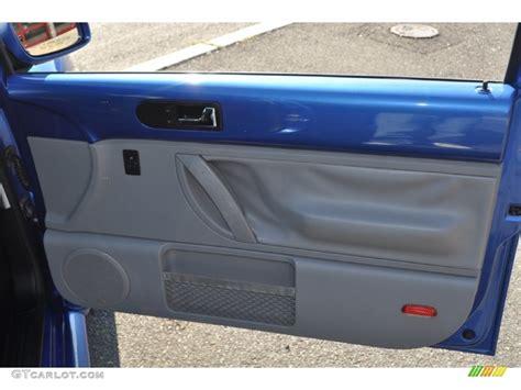 2001 Vw Beetle Door Panels 2001 volkswagen new beetle gls coupe light grey door panel