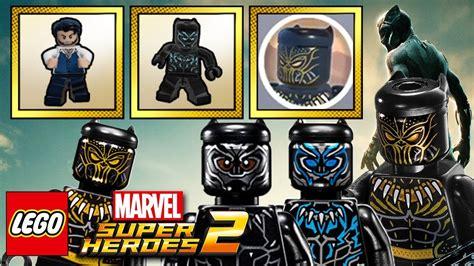 lego 174 marvel super heroes 2 black panther dlc trailer lego marvel super heroes 2 all black panther movie dlc