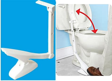 toilet seat lifter pedal daily living aid homecare auxiliary helper products