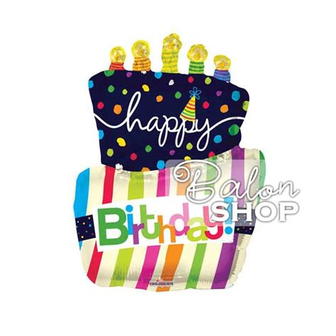 Balon Cake Happy Birthday happy birthday cake folija balon baloni balon shop beograd