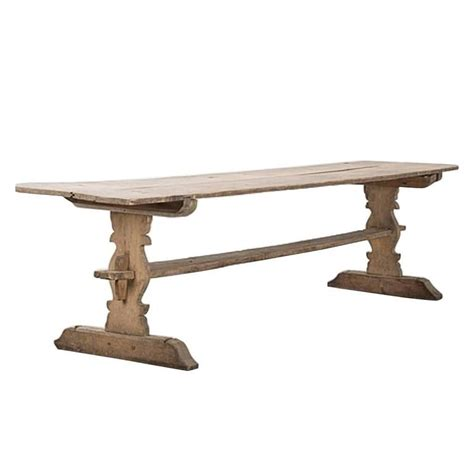 Antique Trestle Dining Table Swedish Gustavian Refectory Pine Trestle Dining Table 19th Century Antique At 1stdibs